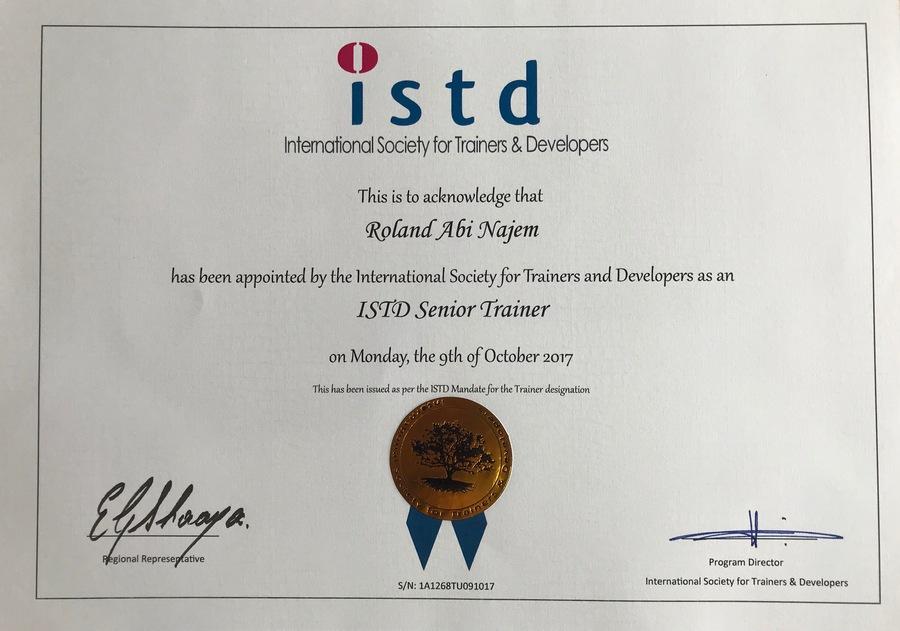 roland-abi-najem-istd-certified-senior-trainer
