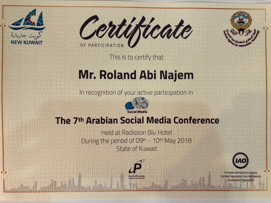 roland-abi-najem-speech-7th-arabian-social-media-forum-in-kuwait-8