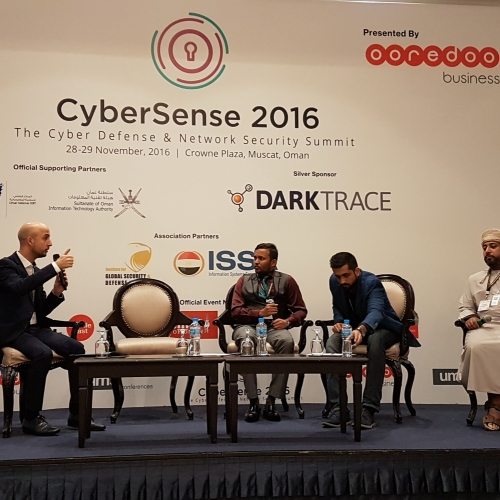 Chairman - CyberSense - The Cyber Defense & Network Security Summit - Oman - Musqat - 28-11-2016