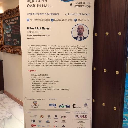 roland-abi-najem-cyber-security-governance-workshop-november-2018-1