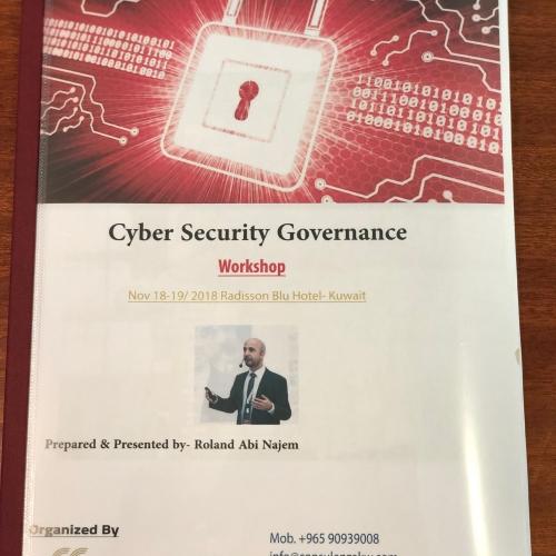 roland-abi-najem-cyber-security-governance-workshop-november-2018-2