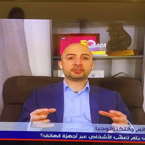 Interview on MTV Lebanon TV Talking About Tracking People Through Mobile
