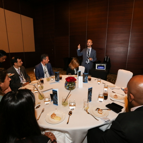 Keynote Speaker in a private VIP Luncheon for C-suite and Senior Executives in GCC Region - Dubai 2018