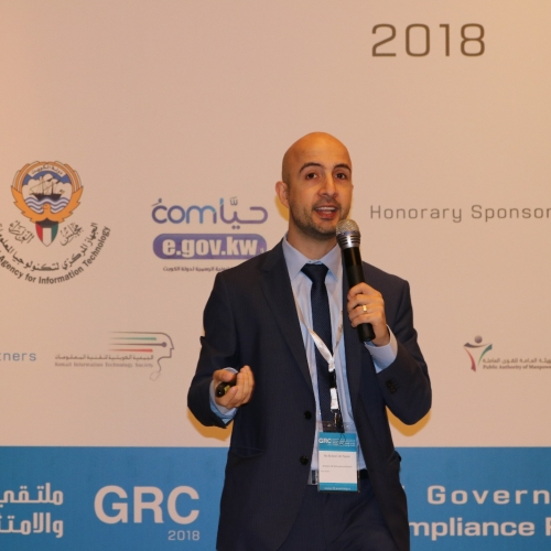 roland-abi-najem-grc-kuwait-it-governance-risk-compliance-forum-march-2018-21