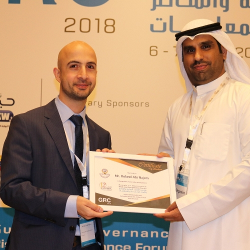 roland-abi-najem-grc-kuwait-it-governance-risk-compliance-forum-march-2018-24