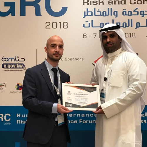 roland-abi-najem-grc-kuwait-it-governance-risk-compliance-forum-march-2018-5