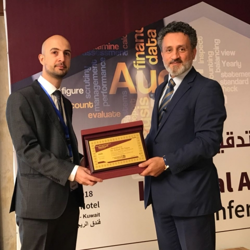 My Speech at the Cyber Security and Role of Internal Audit during which I was honored April 2018