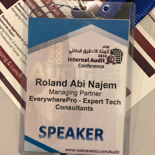 roland-abi-najem-speech-at-the-cyber-security-and-role-of-internal-audit-during-which-i-was-honored-7