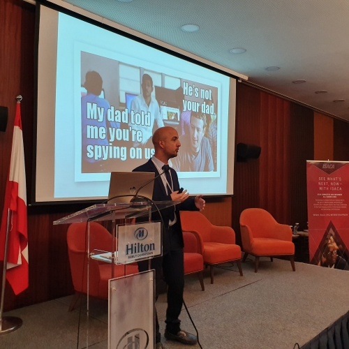 roland-abi-najem-speech-in-isaca-cyber-security-conference-2