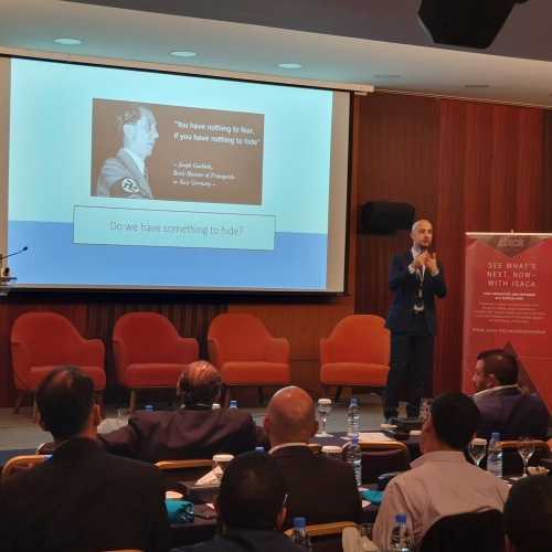 roland-abi-najem-speech-in-isaca-cyber-security-conference-7