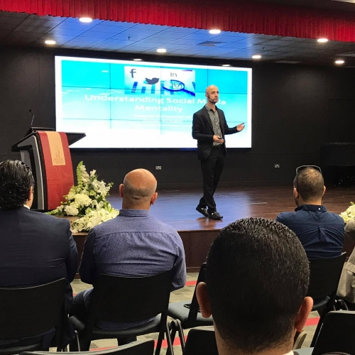 Speaker in the IAA Conference - Kuwait 2017