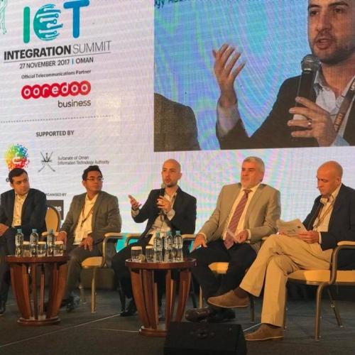 Speaker & Panelist in IoT Integration Summit - Muscat - Oman 2017