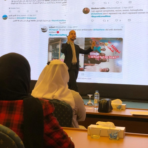 roland-abi-najem-speaker-in-the-arab-media-forum-talking-about-influencers-marketing-where-i-was-honored-by-the-conference-chariman-mr-madi-al-khamis-6
