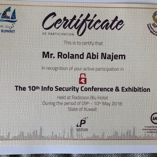 roland-abi-najem-speech-the-10th-kuwait-info-security-conference-exhibition-8