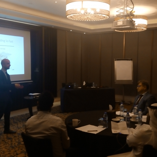 Workshop & Speech in the 7th Cyber Security for Energy and Utilities forum Abu Dhabi March 2018