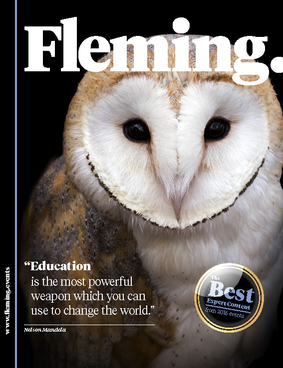 Roland Abi Najem Interview with International Magazine Fleming talking about Social Media