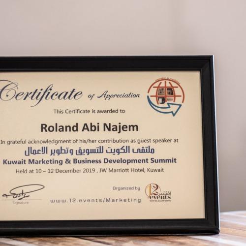 Roland-Abi-Najem-Certificates-Awards-رولان-أبي-نجم-14-1024x741